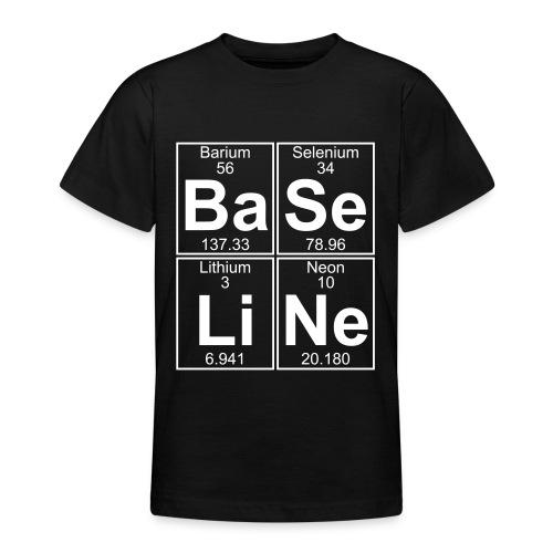 Ba-Se-Li-Ne (baseline) - Teenage T-Shirt