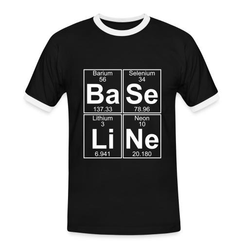 Ba-Se-Li-Ne (baseline) - Men's Ringer Shirt