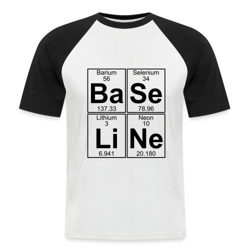 Ba-Se-Li-Ne (baseline) - Men's Baseball T-Shirt