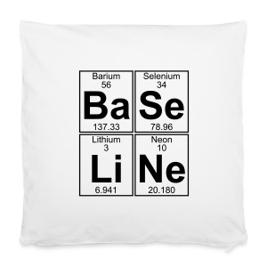 Ba-Se-Li-Ne (baseline) - Pillowcase 40 x 40 cm