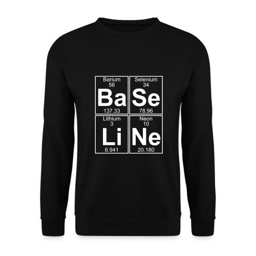 Ba-Se-Li-Ne (baseline) - Men's Sweatshirt