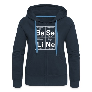 Ba-Se-Li-Ne (baseline) - Women's Premium Hooded Jacket