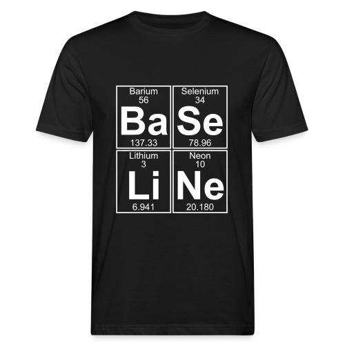 Ba-Se-Li-Ne (baseline) - Men's Organic T-Shirt