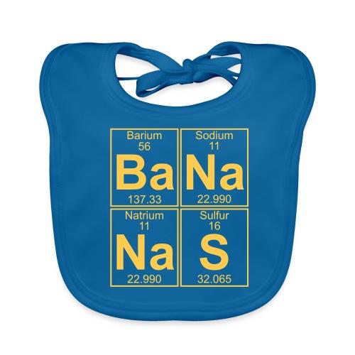 Ba-Na-Na-S (bananas) - Baby Organic Bib