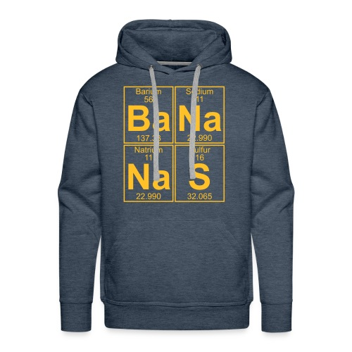 Ba-Na-Na-S (bananas) - Men's Premium Hoodie