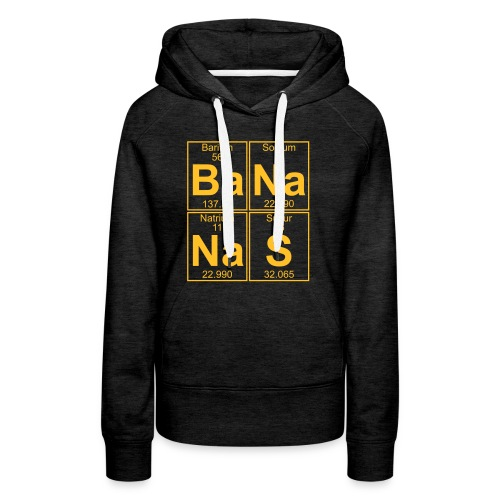 Ba-Na-Na-S (bananas) - Women's Premium Hoodie