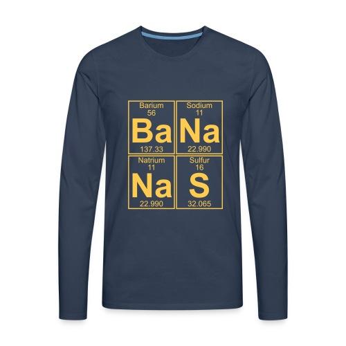 Ba-Na-Na-S (bananas) - Men's Premium Longsleeve Shirt
