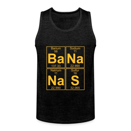 Ba-Na-Na-S (bananas) - Men's Premium Tank Top