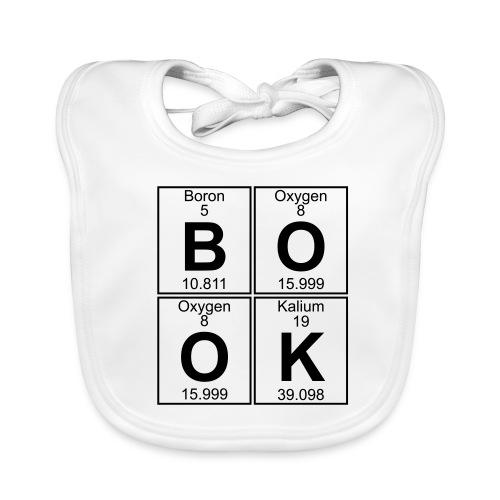 B-O-O-K (book) - Baby Organic Bib