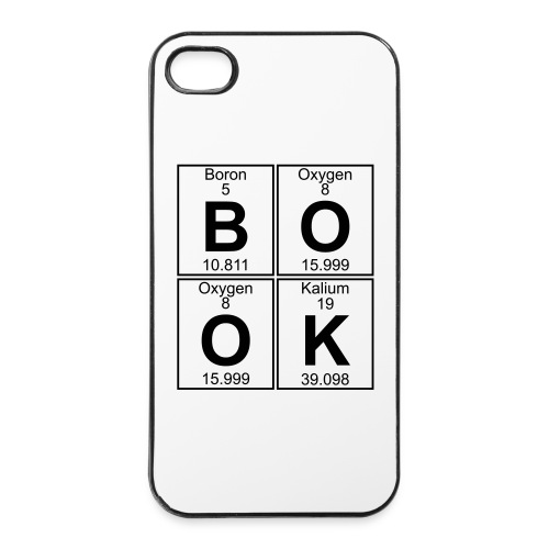 B-O-O-K (book) - iPhone 4/4s Hard Case
