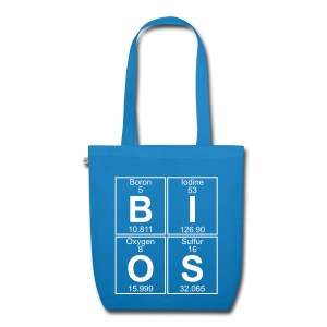 B-I-O-S (bios) - EarthPositive Tote Bag