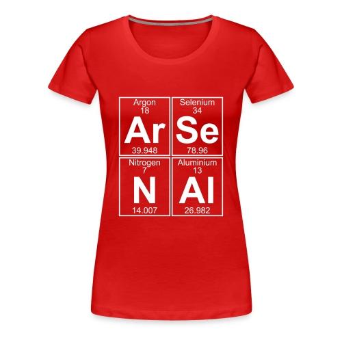 Ar-Se-N-Al () - Women's Premium T-Shirt