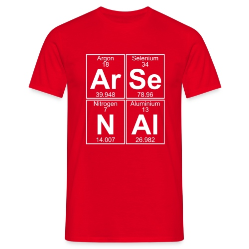 Ar-Se-N-Al () - Men's T-Shirt
