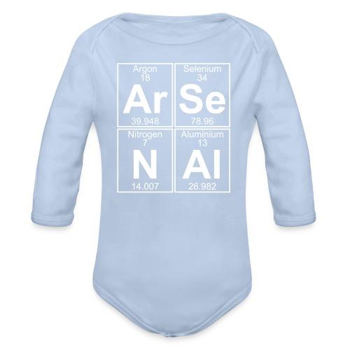 Ar-Se-N-Al () - Organic Longsleeve Baby Bodysuit