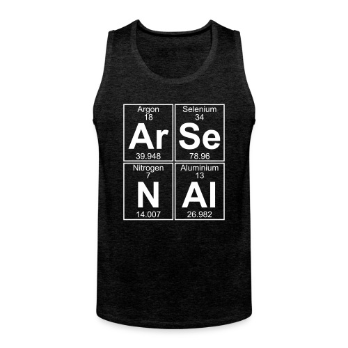 Ar-Se-N-Al () - Men's Premium Tank Top