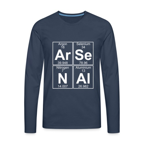 Ar-Se-N-Al () - Men's Premium Longsleeve Shirt