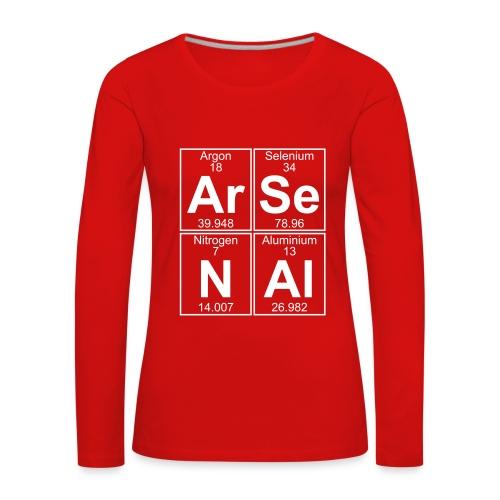 Ar-Se-N-Al () - Women's Premium Longsleeve Shirt