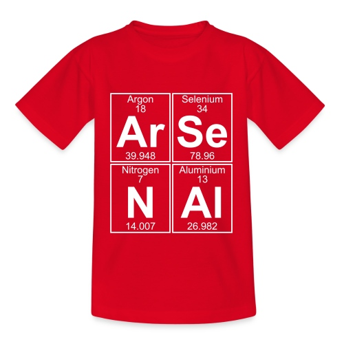 Ar-Se-N-Al () - Teenage T-Shirt