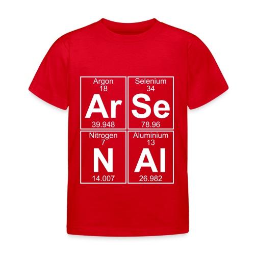 Ar-Se-N-Al () - Kids' T-Shirt