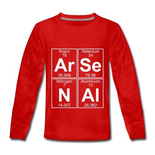 Ar-Se-N-Al () - Teenagers' Premium Longsleeve Shirt