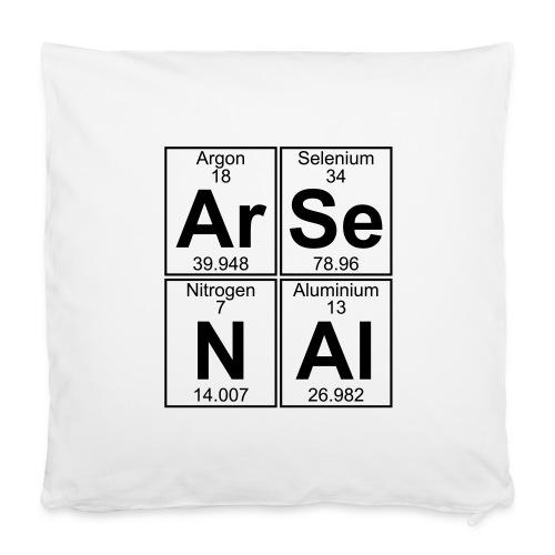 "Ar-Se-N-Al () - Pillowcase 16"" x 16"" (40 x 40 cm)"