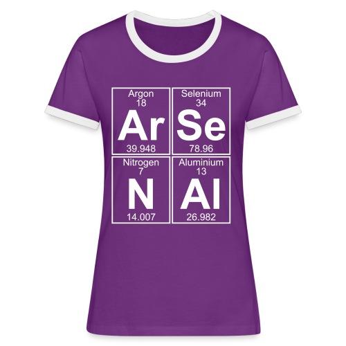 Ar-Se-N-Al () - Women's Ringer T-Shirt