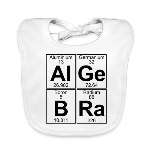 Al-Ge-B-Ra (algebra) - Baby Organic Bib