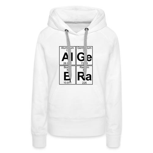 Al-Ge-B-Ra (algebra) - Women's Premium Hoodie