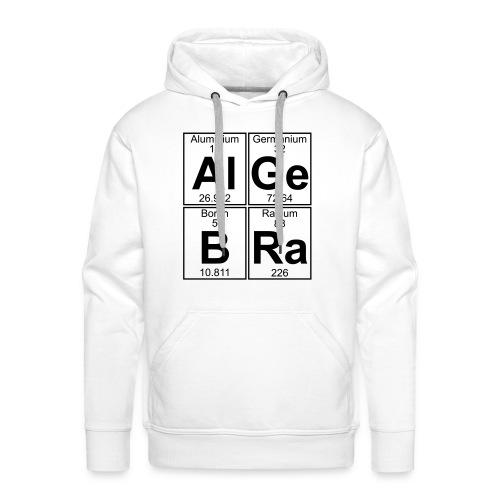 Al-Ge-B-Ra (algebra) - Men's Premium Hoodie