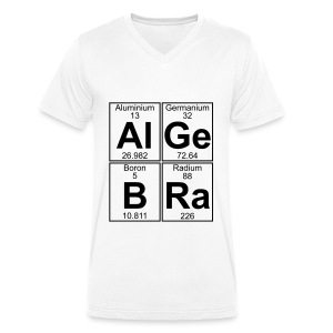 Al-Ge-B-Ra (algebra) - Men's V-Neck T-Shirt