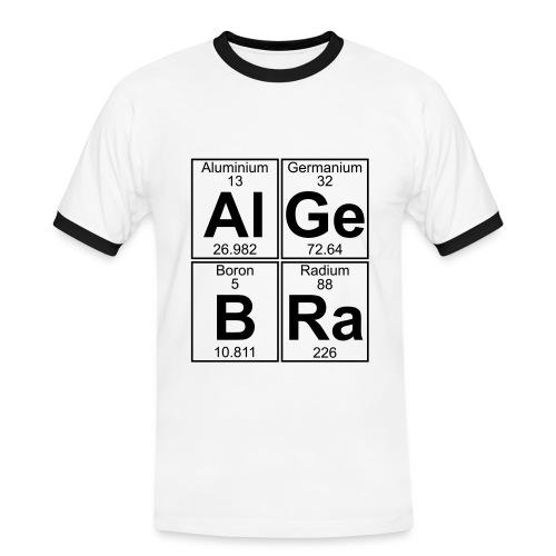 Al-Ge-B-Ra (algebra) - Men's Ringer Shirt