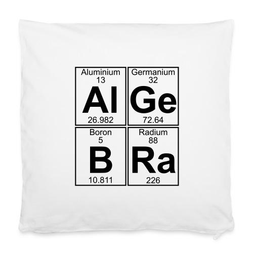 "Al-Ge-B-Ra (algebra) - Pillowcase 16"" x 16"" (40 x 40 cm)"
