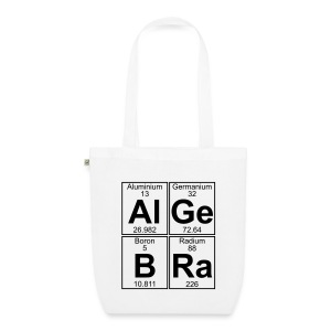 Al-Ge-B-Ra (algebra) - EarthPositive Tote Bag