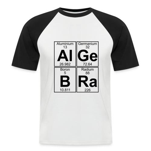 Al-Ge-B-Ra (algebra) - Men's Baseball T-Shirt
