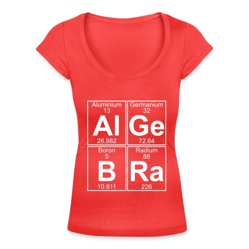 Al-Ge-B-Ra (algebra) - Women's Scoop Neck T-Shirt