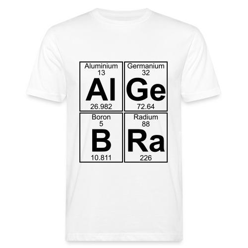 Al-Ge-B-Ra (algebra) - Men's Organic T-Shirt