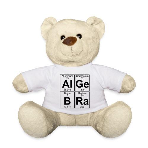 Al-Ge-B-Ra (algebra) - Teddy Bear