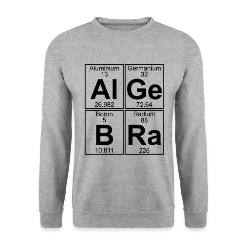 Al-Ge-B-Ra (algebra) - Men's Sweatshirt