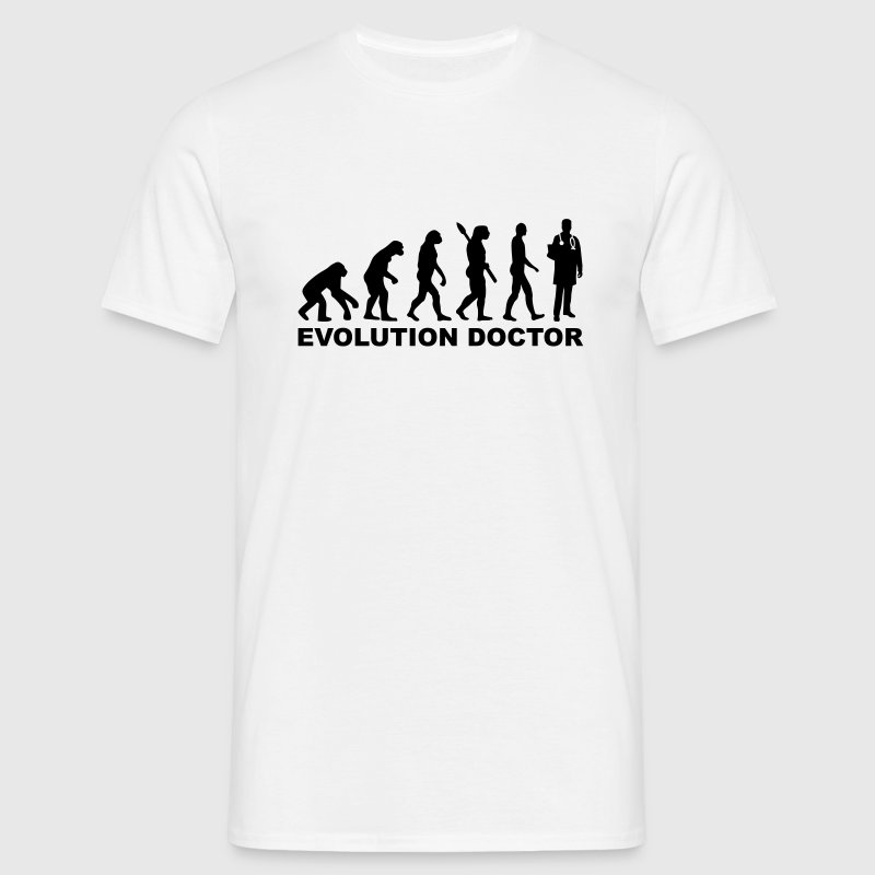 Evolution Doctor T-Shirts - Männer T-Shirt