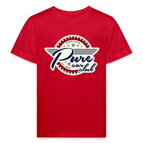Lasten t-paita 9-10v - Lasten luonnonmukainen t-paita