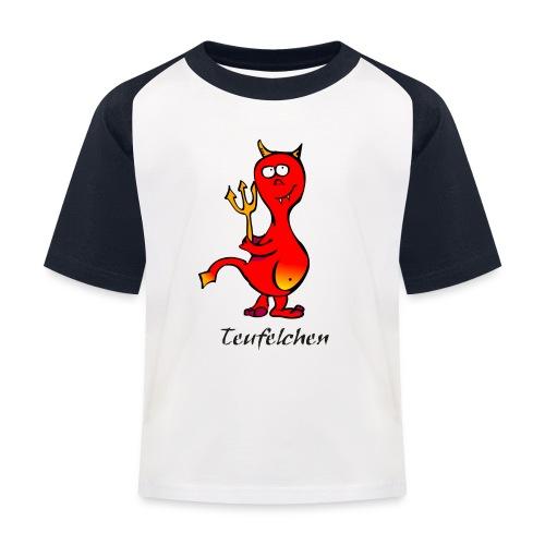 Teufelchen - Kinder Baseball T-Shirt
