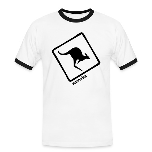 Australian Tendance - T-shirt contrasté Homme