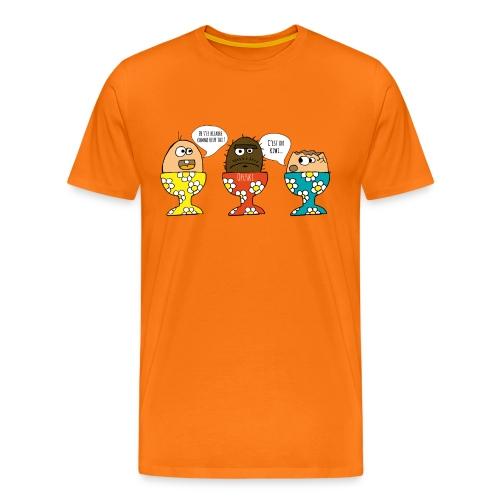 Drôle d'oeuf - T-shirt Premium Homme