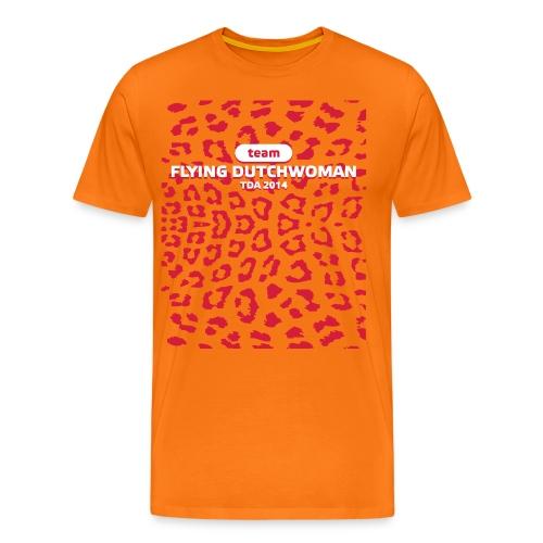 Cheetah1 - Mannen Premium T-shirt