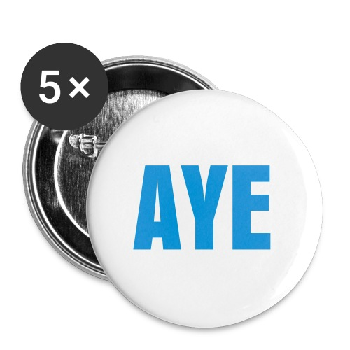 AYE Badge - Buttons small 1''/25 mm (5-pack)