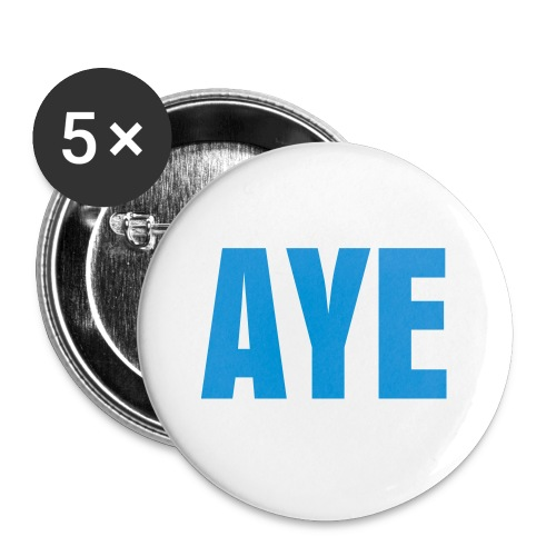 AYE Badge - Buttons medium 1.26/32 mm (5-pack)