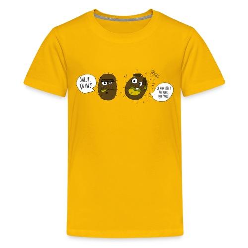 Le kiwi qui parle - T-shirt Premium Ado