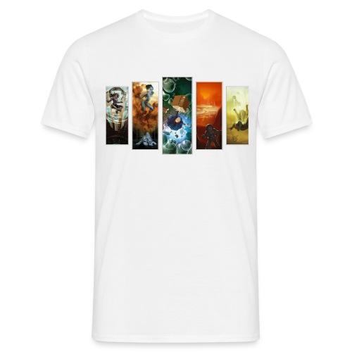 Pentoptique - T-shirt Homme