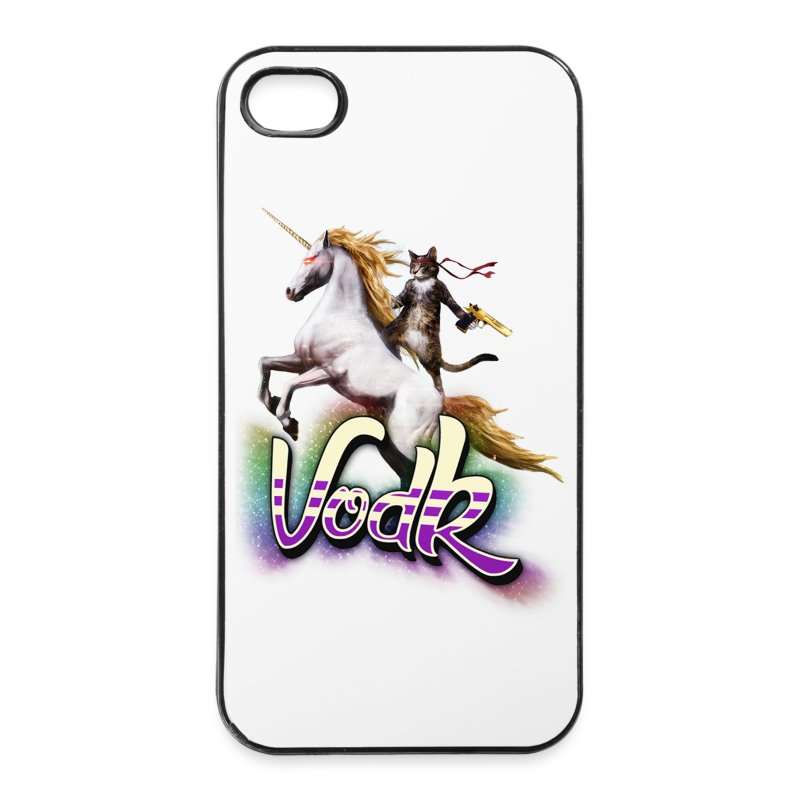 VodK + licorne spreadshirt.png - Coque rigide iPhone 4/4s