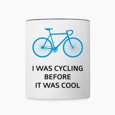 I Was Cycling Before It Was Cool Bottles & Mugs